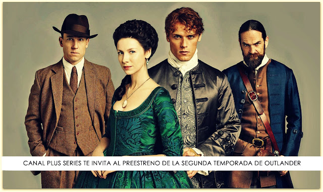 outlander la serie preestreno de la segunda temporada de outlander en madrid por canal plus. Black Bedroom Furniture Sets. Home Design Ideas