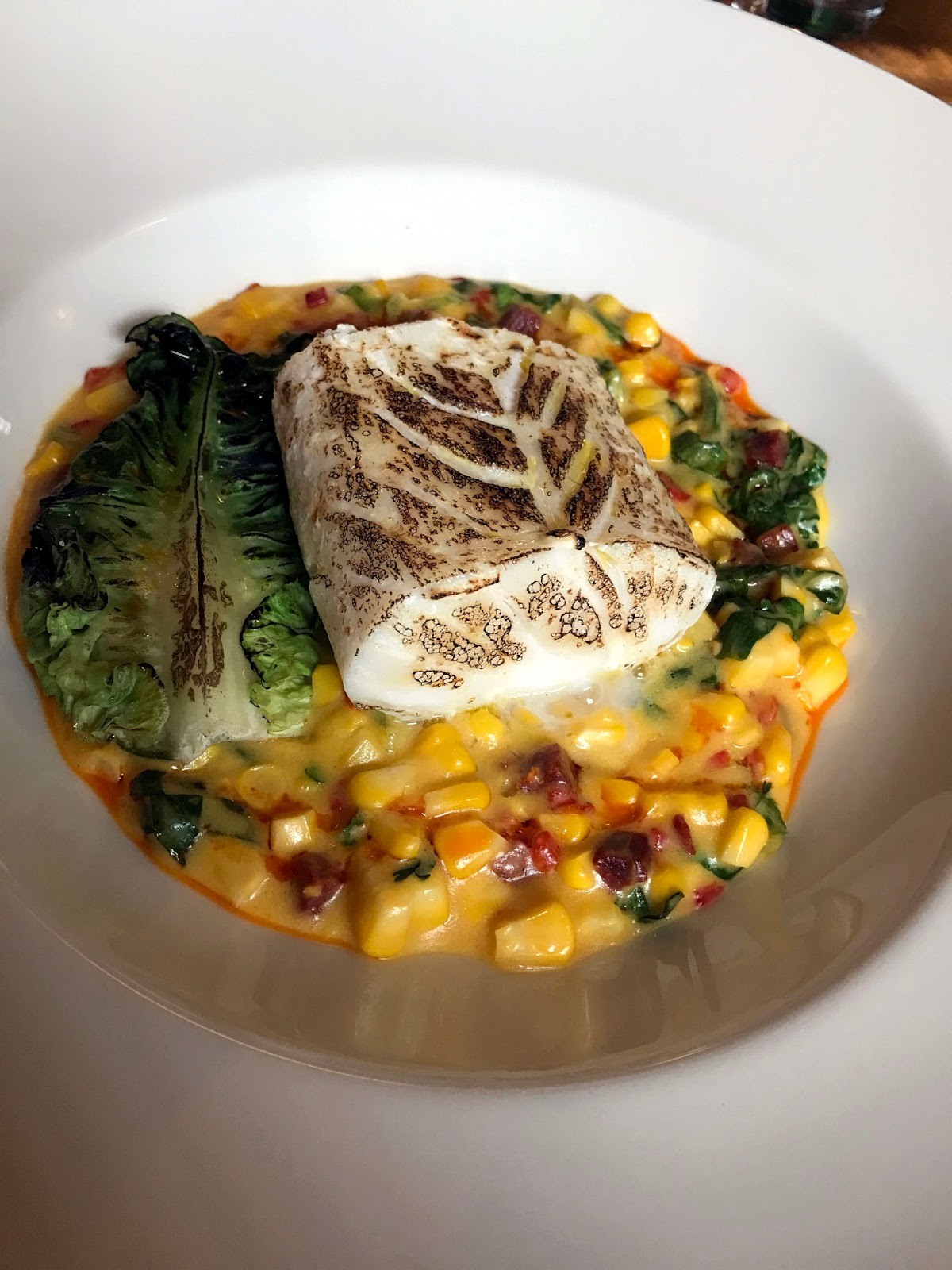 Stitch & Bear - Mr Fox - Cod with corn succotash