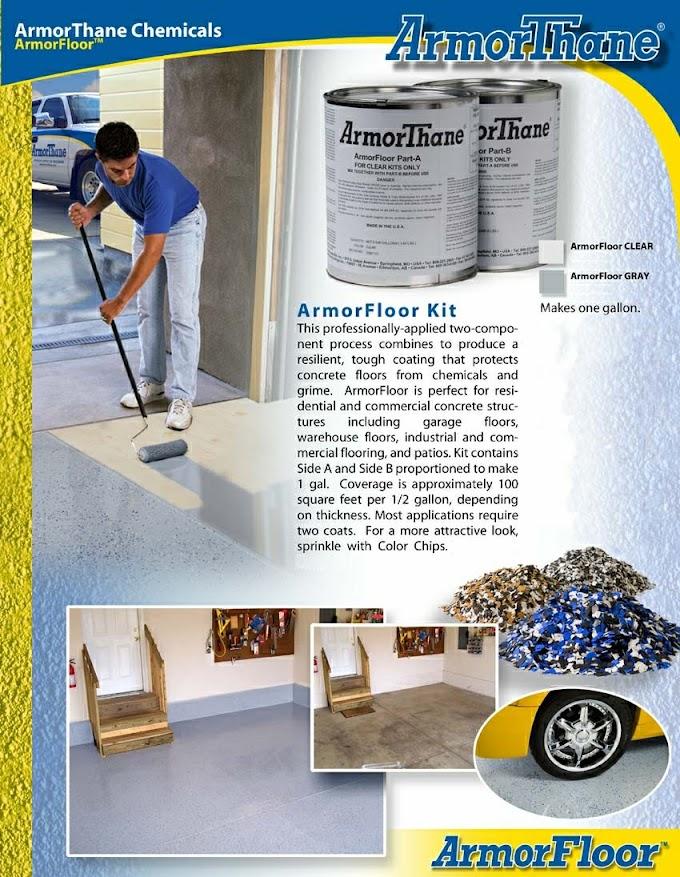 ArmorThane - ArmorFloor - Polyurea