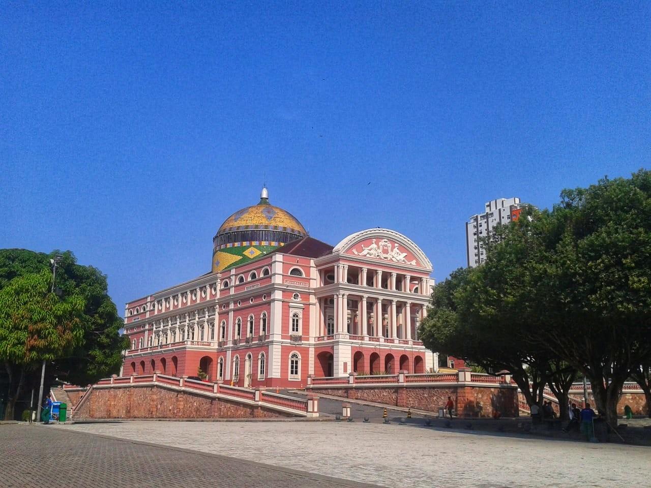 Largo de São Sebastião - Teatro Amazonas - Manaus