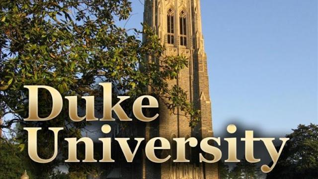 منحة مهمة جدا تقدمها جامعة ديوك  للطلاب الدوليين لدراسة المرحلة الجامعية في الولايات المتحدة