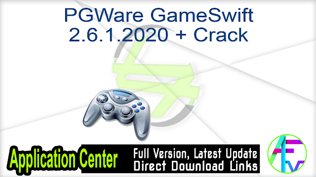 PGWare GameSwift 2.6.1.2020 + Crack
