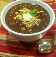 Southwest Black Bean Soup