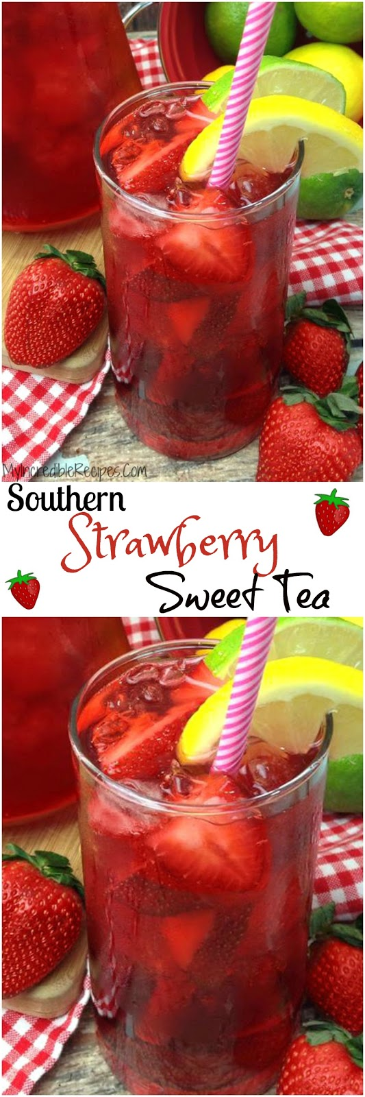 Southern Strawberry Sweet Tea! - Recipes