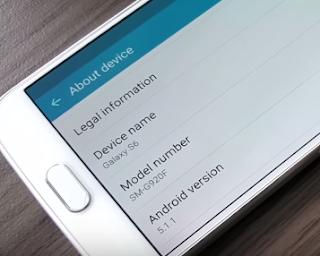 Update Samsung Galaxy S6 atau S6 Edge ke Lollipop 5.1.1