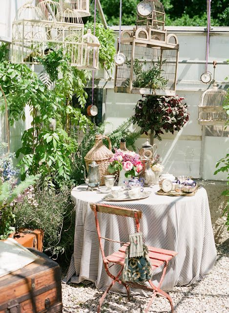 Gates of crystal our cabana and some inspiration pics - Garden ideas vintage ...