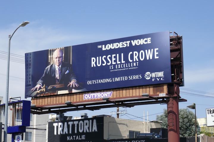 Loudest Voice Emmy FYC billboard