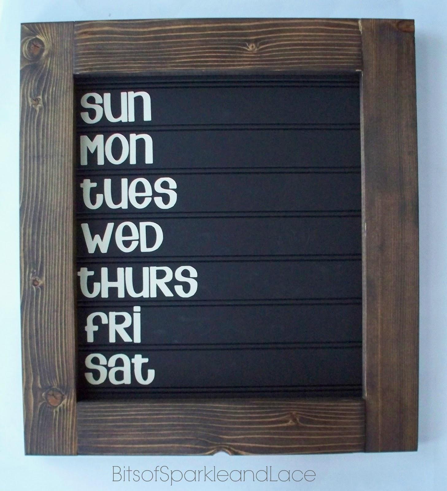 Chalkboard Beadboard Menu Board