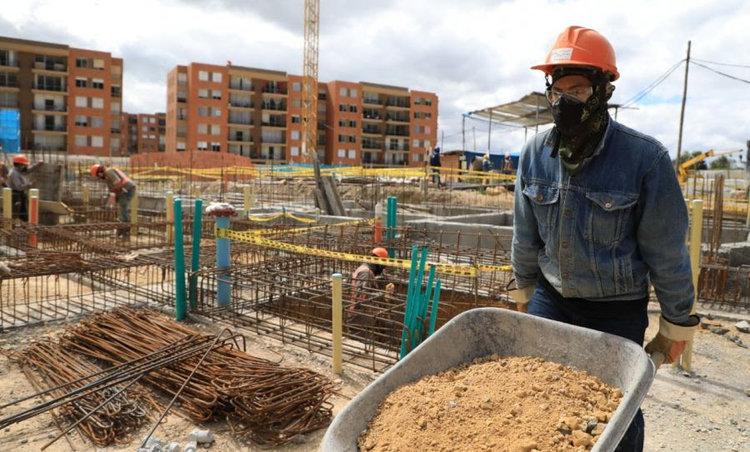 Construcción paralizada, solo el 45% de los proyectos estuvieron en actividad