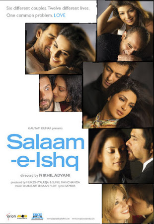 Poster Of Hindi Movie Salaam-E-Ishq 2007 Full HD Movie Free Download 720P Watch Online