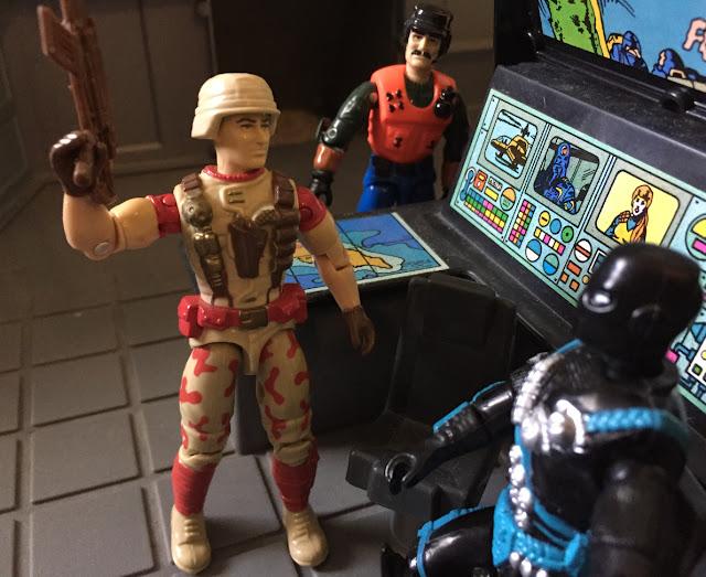 1992 Duke, 1993 Backblast, DEF Mutt, Locust, 2000, Dragonfly, Ninja Force Snake Eyes