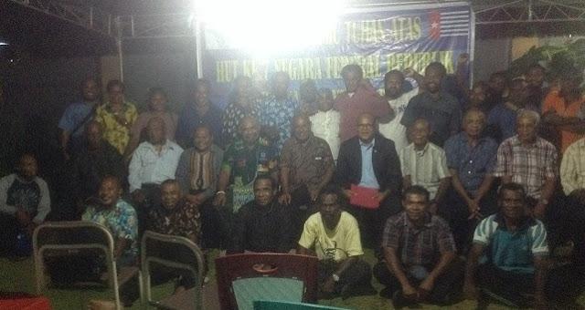 HUT ke-7, Negara Federal Republik Papua Barat Fokus Dorong ULMWP