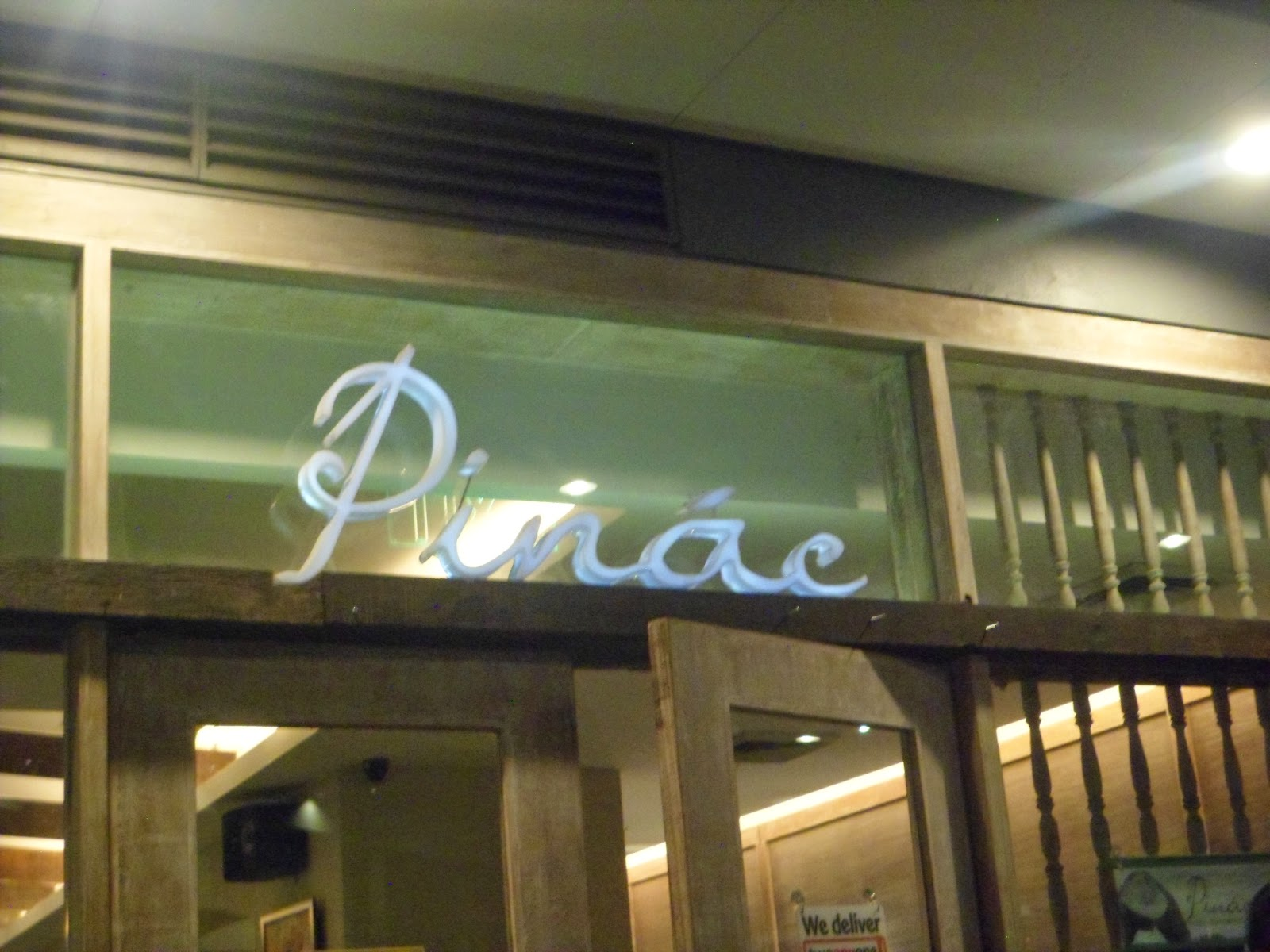 Pinac Heirloom Capampangan Cuisine At UP Town Center