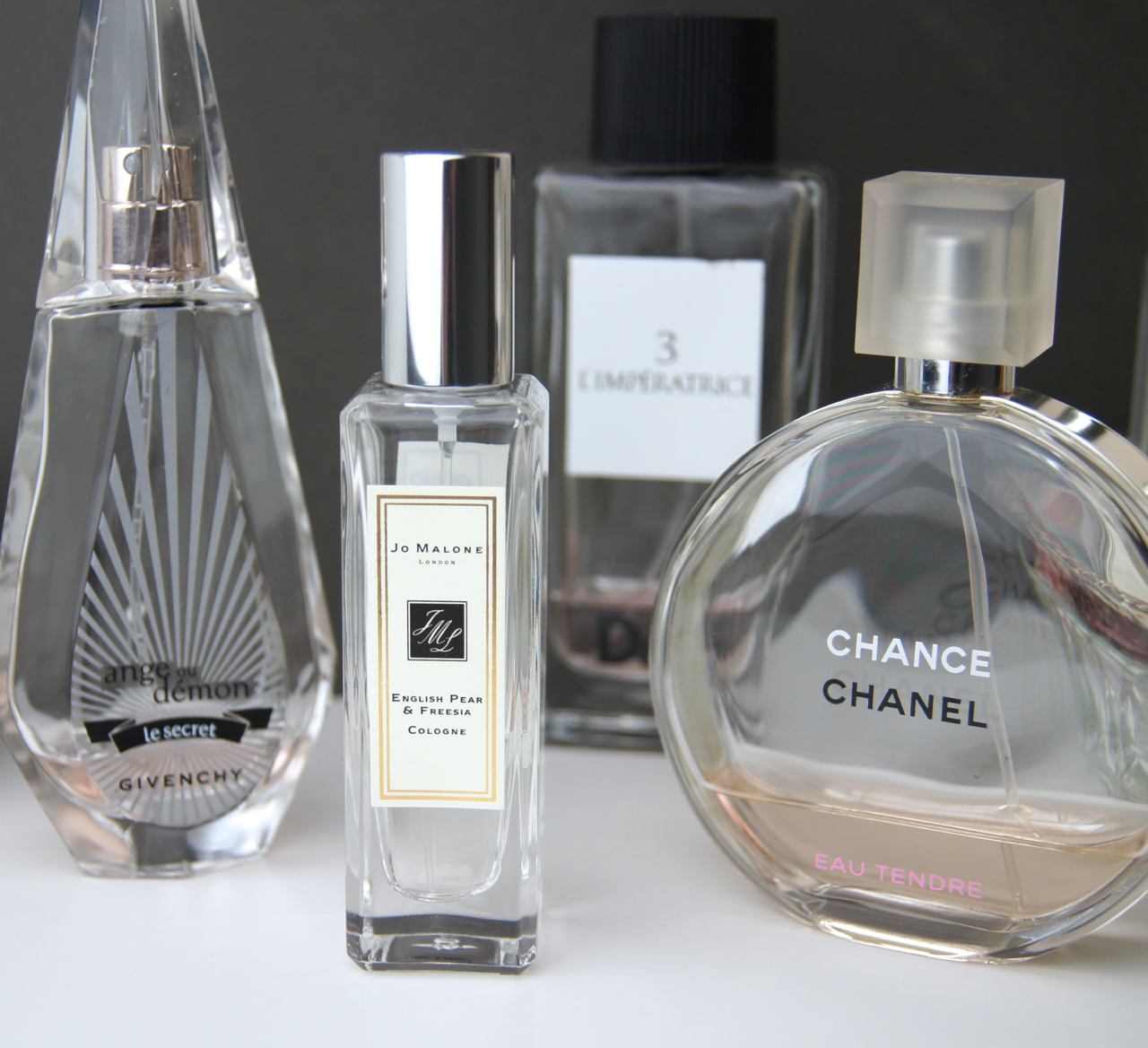 summer fragrance favourites jo malone chanel givenchy d&g