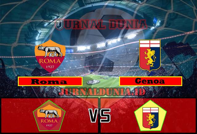 Prediksi Roma vs Genoa, Minggu 07 Maret 2021 Pukul 18.30 WIB @beIN Sports