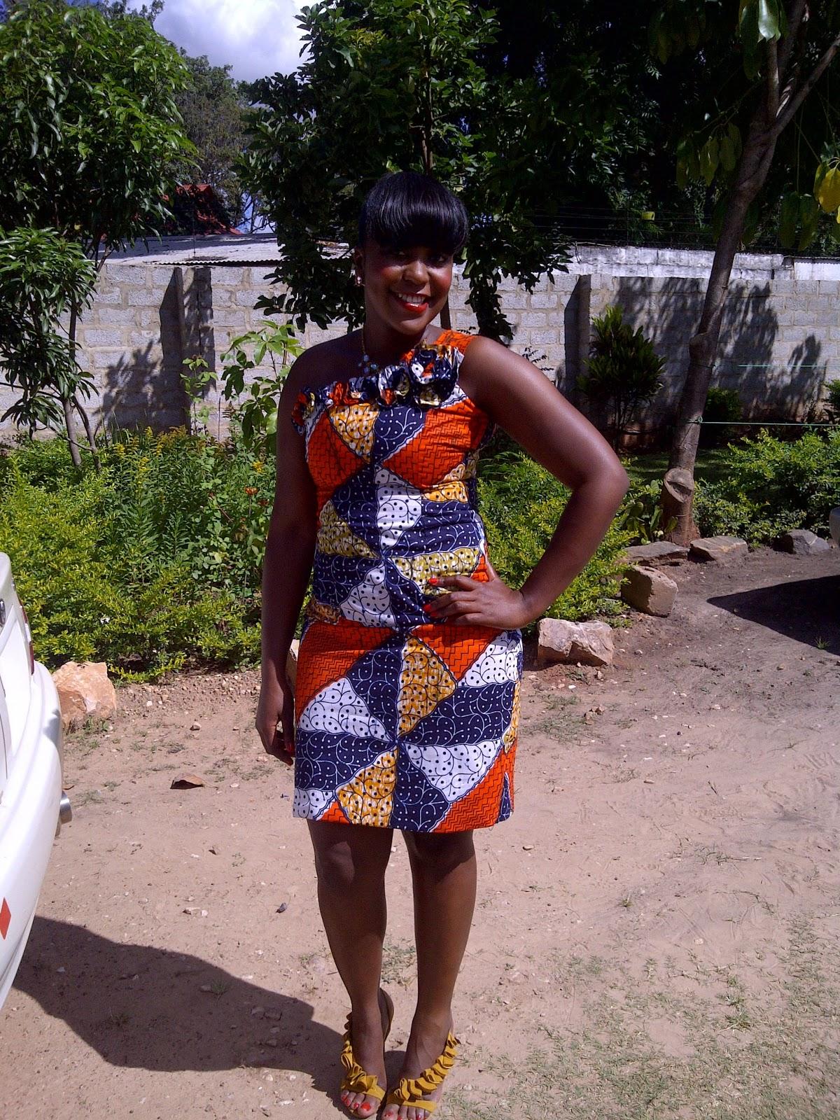 Zambian Wedding Attire