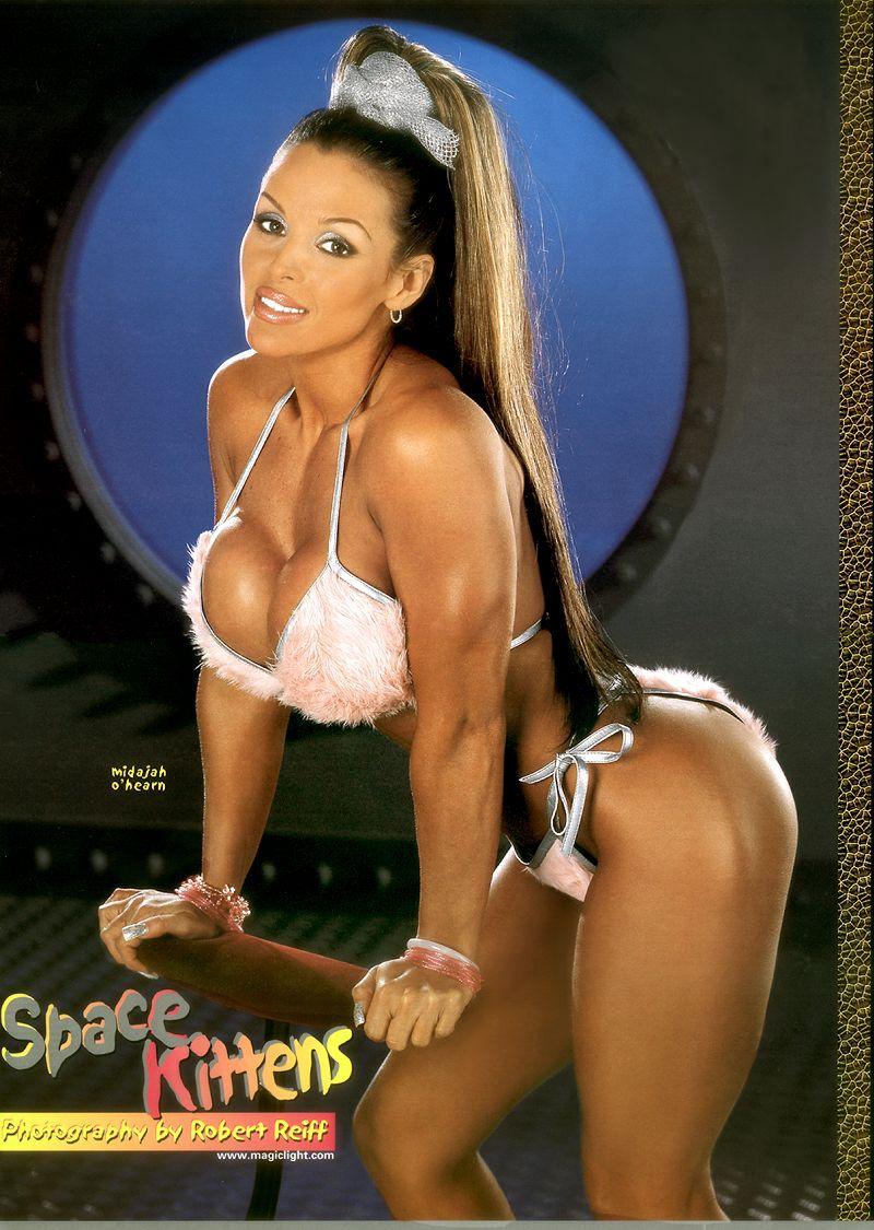 Wcw fitness model tylene buck pool bikini photoshoot