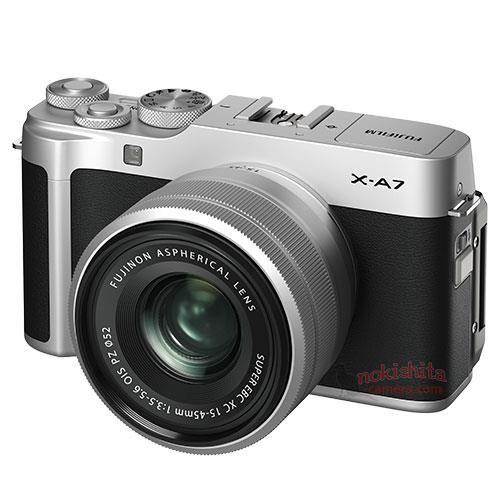Fujifilm X-A7 с объективом
