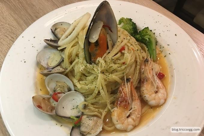 [餐廳]台北中山區 曉拾光義大利麵-錦州街上平價美味的義大利麵餐廳!