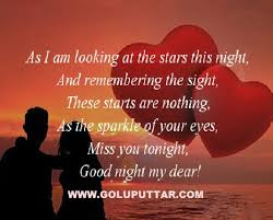 good night as i am looking all the stars this night,