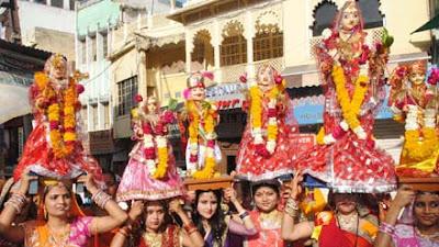 Gangon special:-जानिये क्या है गणगौर तृतीया पर्व ,क्यो मनाया जाता है, इसकी मान्यता।।।
