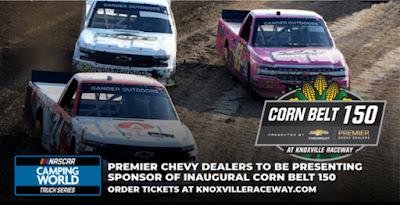 Knoxville Raceway to Host #NASCAR Camping World Truck Series