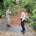 Hujan Deras, Tanah Longsor Terjadi di Tiga Lokasi Wilayah Kecamatan Rembang