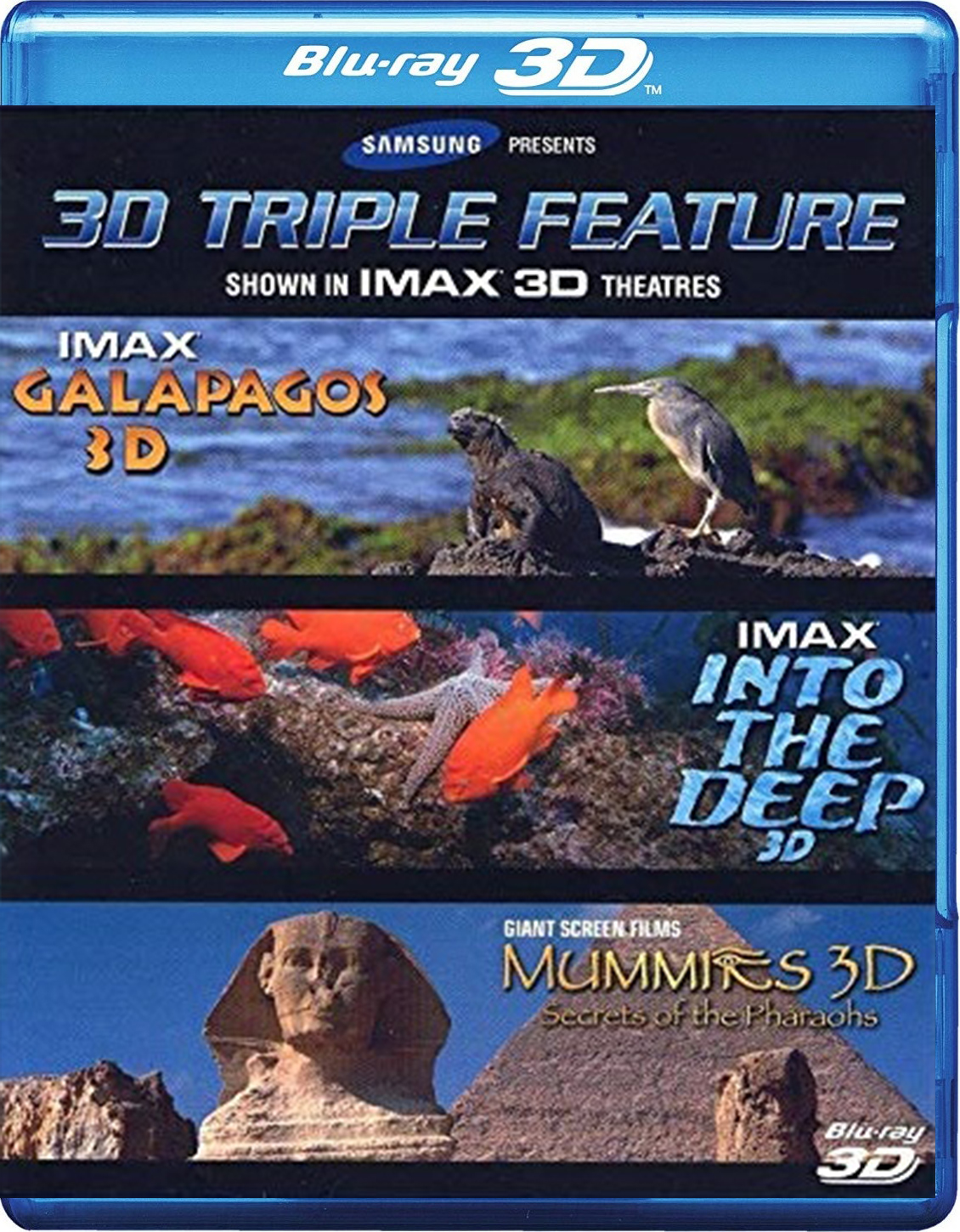 Samsung IMAX 3D Triple Feature [2006] [BD50] [Latino] [2D + 3D]