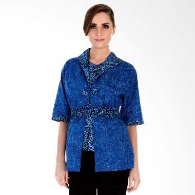 Model Baju Batik Kerja Wanita Modis dan Trendy