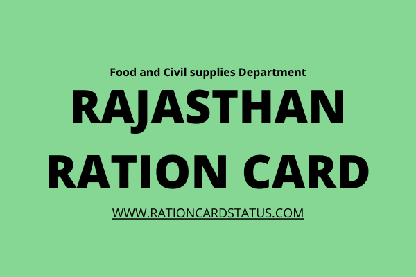 Food_Raj_nic_Ration_card_status_Rajasthan_online_2020