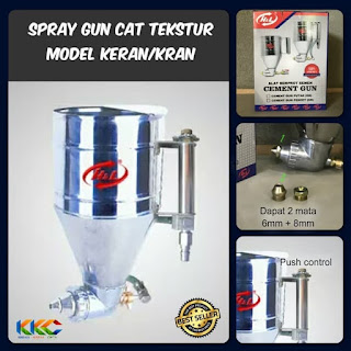 Spray Gun Tekstur Model Pencet 1
