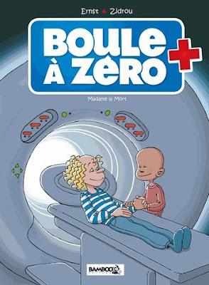 couverture de Boule à Zéro T4 Madame la Mort de Ernst et Zidrou