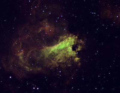 "M17, nebulosa ""Omega"" a Sgr."