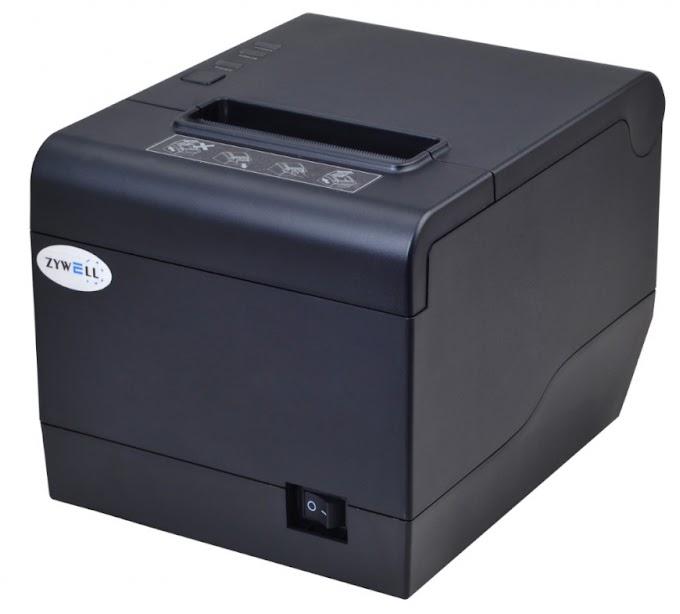 Máy in hóa đơn thanh toán khổ 80mm,  Zywell - Zy808 (khổ 80mm), thương hiệu và sản xuất Trung Quốc: 2.190.000đ