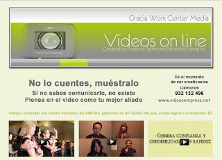 newsletter Gracia Work Center Media - ¿Por que un video on line?