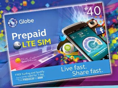 I will Upgrade my current Prepaid SIM to Globe's LTE SIM