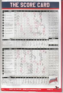 Twins vs. Cardinals, 08-12-17. Cardinals win, 12-5.