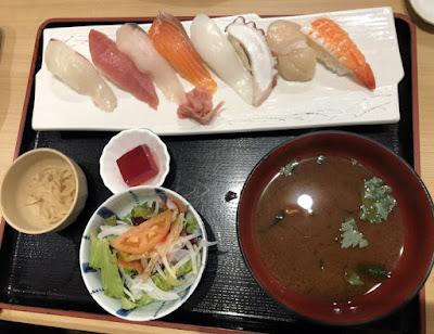 活魚料理 魚榮(さかえ) 寿司定食