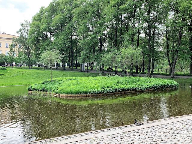 Slottsparken - en oase i hovedstaden vår, Oslo. En øy med trær og planter IMG_0242 (2)-min