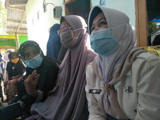 Ibunda Imam Masjid Agung  Sinjai Wafat,Andi Kartini Ottong Melayat di Kaloling