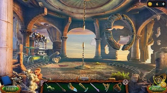 ставим детальна полу и открывается люк в вниз в игре затерянные земли 4 скиталец
