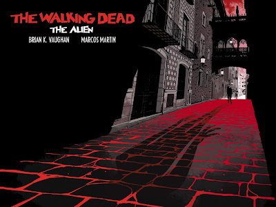 The Walking Dead. The Alien (cover by Marcos Martin)