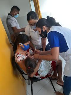 Secretaria Municipal de Saúde intensifica vacinação contra Influenza na sede e zona rural de Bom Jardim