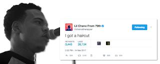 Chance The Rapper Haircut