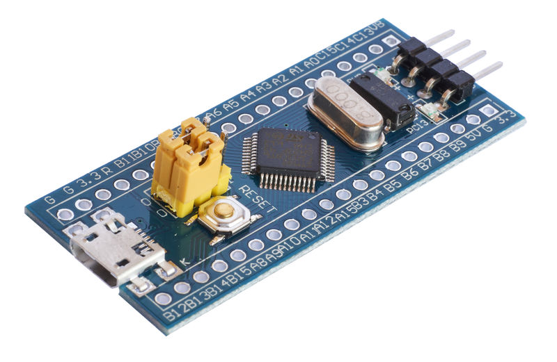 How to use Platformio to develop for generic STM32F103C8 board