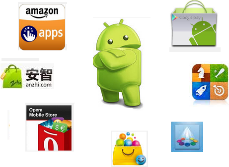Top 10 Android app stores other than Google playstore