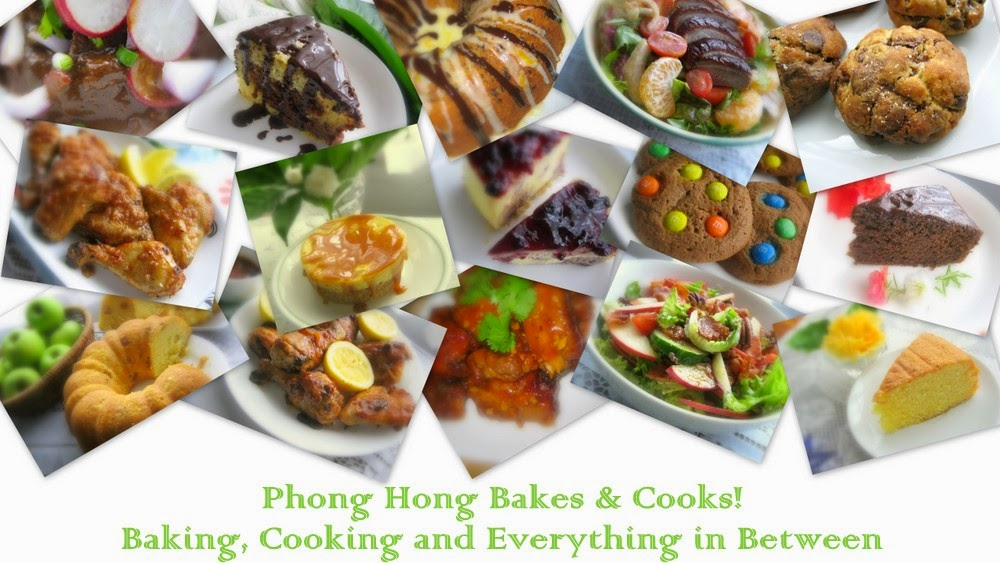 Phong Hong Bakes and Cooks!