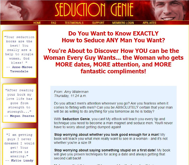 Seduction Genie - How To Attract Men For Women