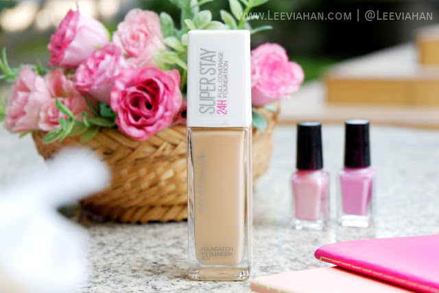 REVIEW Maybelline Superstay Full Coverage Foundation 24HR