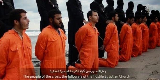 Karena Menolak Masuk Islam, ISIS Penggal 21 Umat Kristen Koptik di Libya